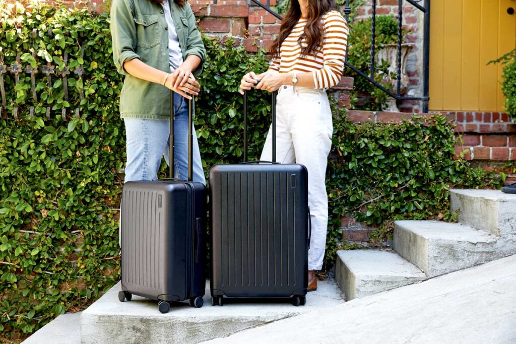 Downsizers enjoying travel thanks to a lock and leave lifestyle
